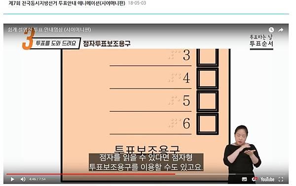 簡易說明的投票指南影片–婆婆篇(點字選票)