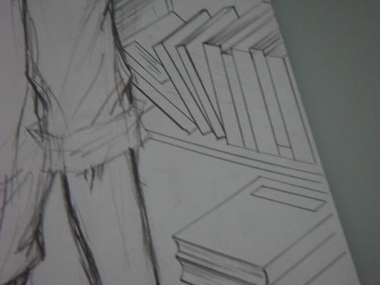 老師,我喜歡你-草圖