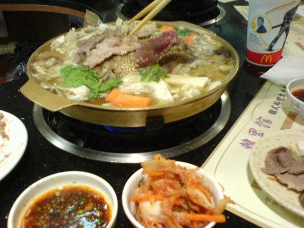韓式銅盤烤肉