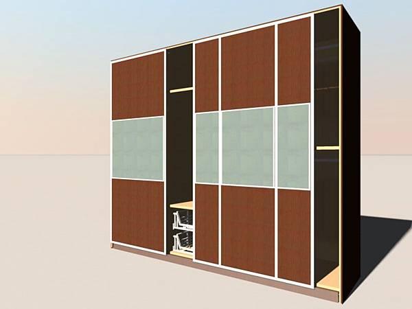 櫥櫃施工圖的製作-2