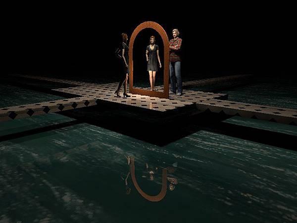 水面上不同形狀鏡子的製作03