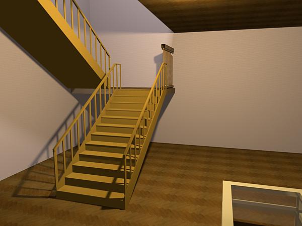 Sweet Home 3D 6分鐘樓梯及二樓的製作.png