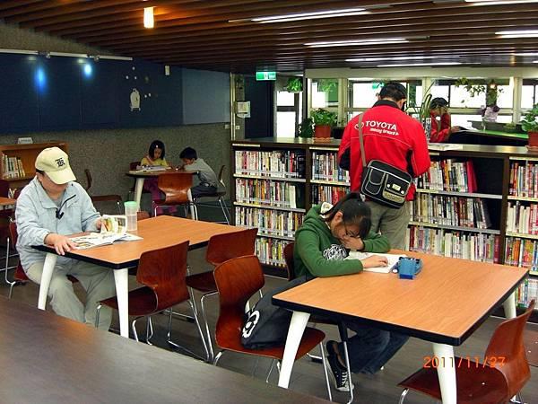 民國100.11.27新北市立圖書館樹林樂山閱覽室 (8).JPG
