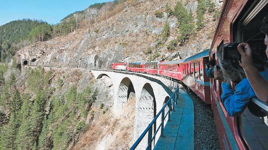 瑞士鐵道之旅 (1)