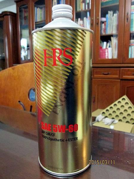 HRS 5W-60 汽車用全合成機油149元 (1)