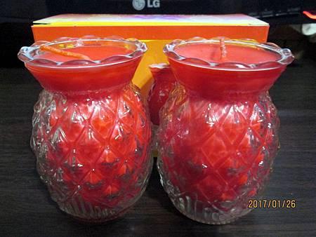 5號旺來鳳梨酥油燈 (2)