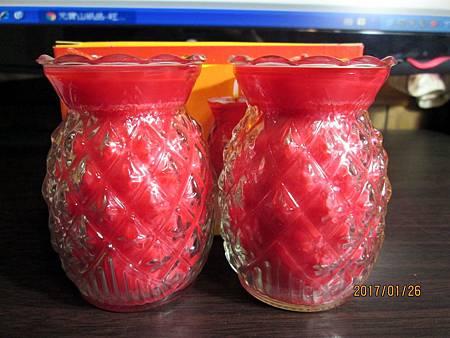 5號旺來鳳梨酥油燈 (1)