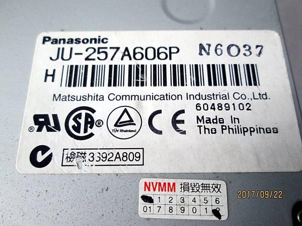 Panasonic JU-257A606P軟碟機3.5吋1.44MB Floppy Disk Dirve (9)