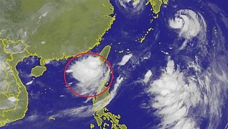 2018.08.23熱帶性低氣壓登陸 南台灣強風豪雨