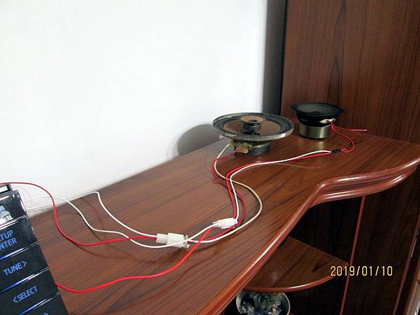 TOYOTA ALTIS CQ-JS76G0WW汽車音響改為家用音響 (14)