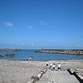 南方澳豆腐呷 半月灣的海口很特別
