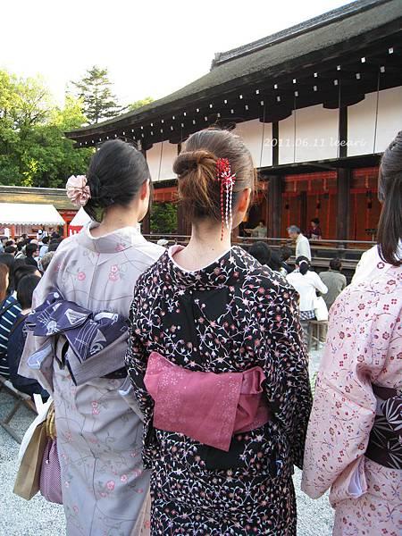 201106- (3) 京都下鴨神社和服美女