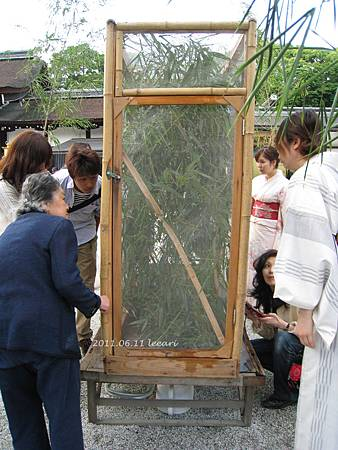 201106-- (2) 京都下鴨神社螢火蟲