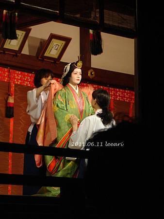 201106 (2) 京都下鴨神社十二單衣表演