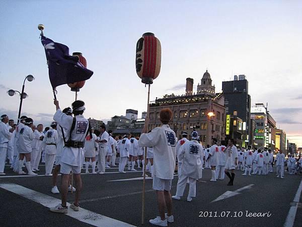 201107- (2)  京都祇園祭 前儀