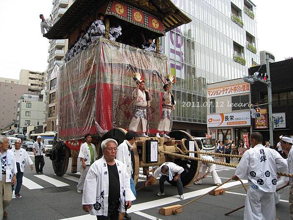 201107 (2)  京都祇園祭 山車