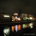 201106 (1) 京都夜之鴨川四条