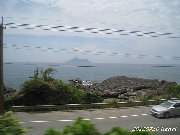 台鐵東部沿線風光 龜山島