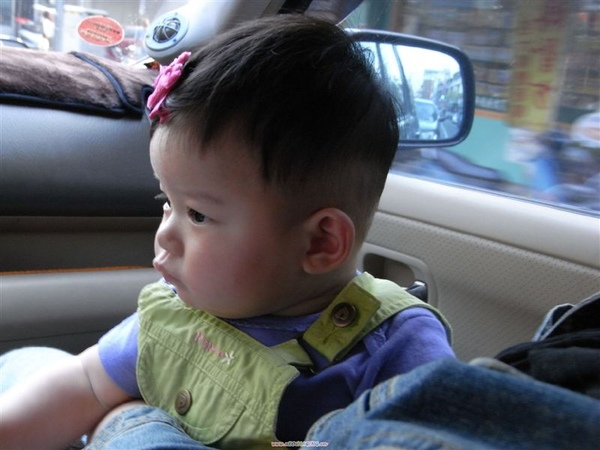 09-2-23   (5個多月)  妹妹去外婆太家~