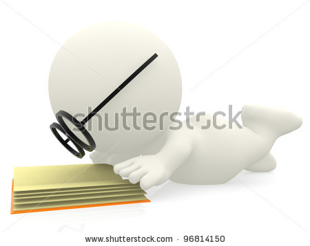 stock-photo--d-cartoon-nerd-reading-a-book-isolated-over-white-background-96814150