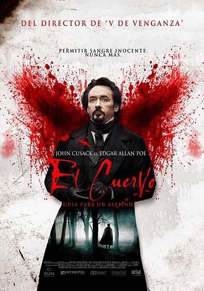 電影中的詩---愛倫坡( Edgar Allen Po)1:神探愛倫坡---黑鴉疑雲,心靈訪客,一樹梨花壓海棠,龍虎盟