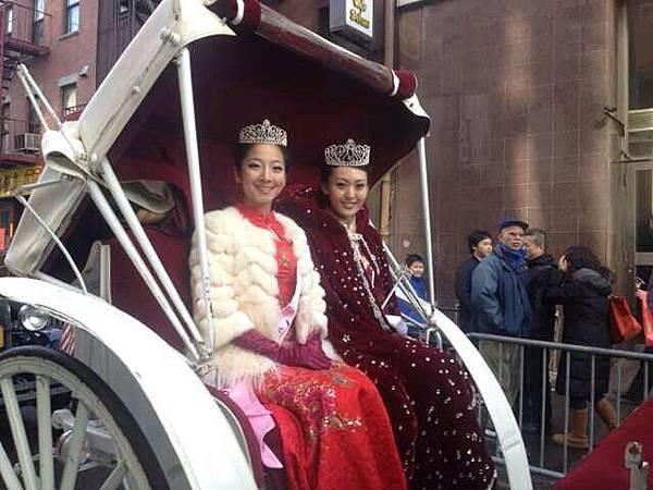 紐約華裔小姐車隊