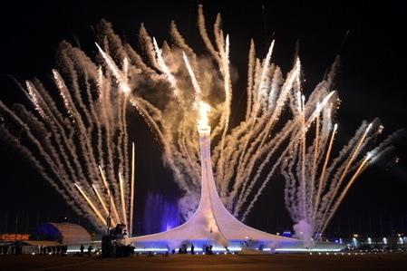冬季奧運開幕式煙火