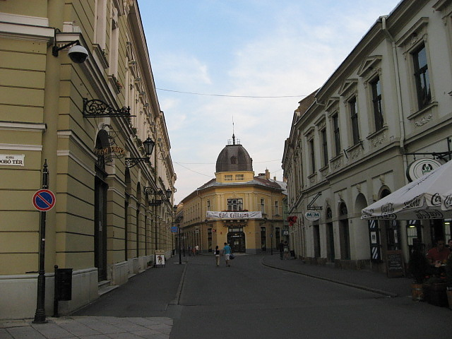 Eger 街道