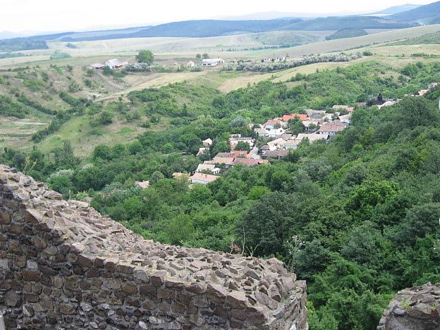 城堡上的視野