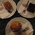 Gerbeaud 咖啡店的蛋糕