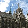 馬堤亞斯教堂側面 1