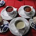 餐前湯 vs 咖啡