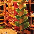 木頭玩具樹