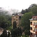 在山上的飯店