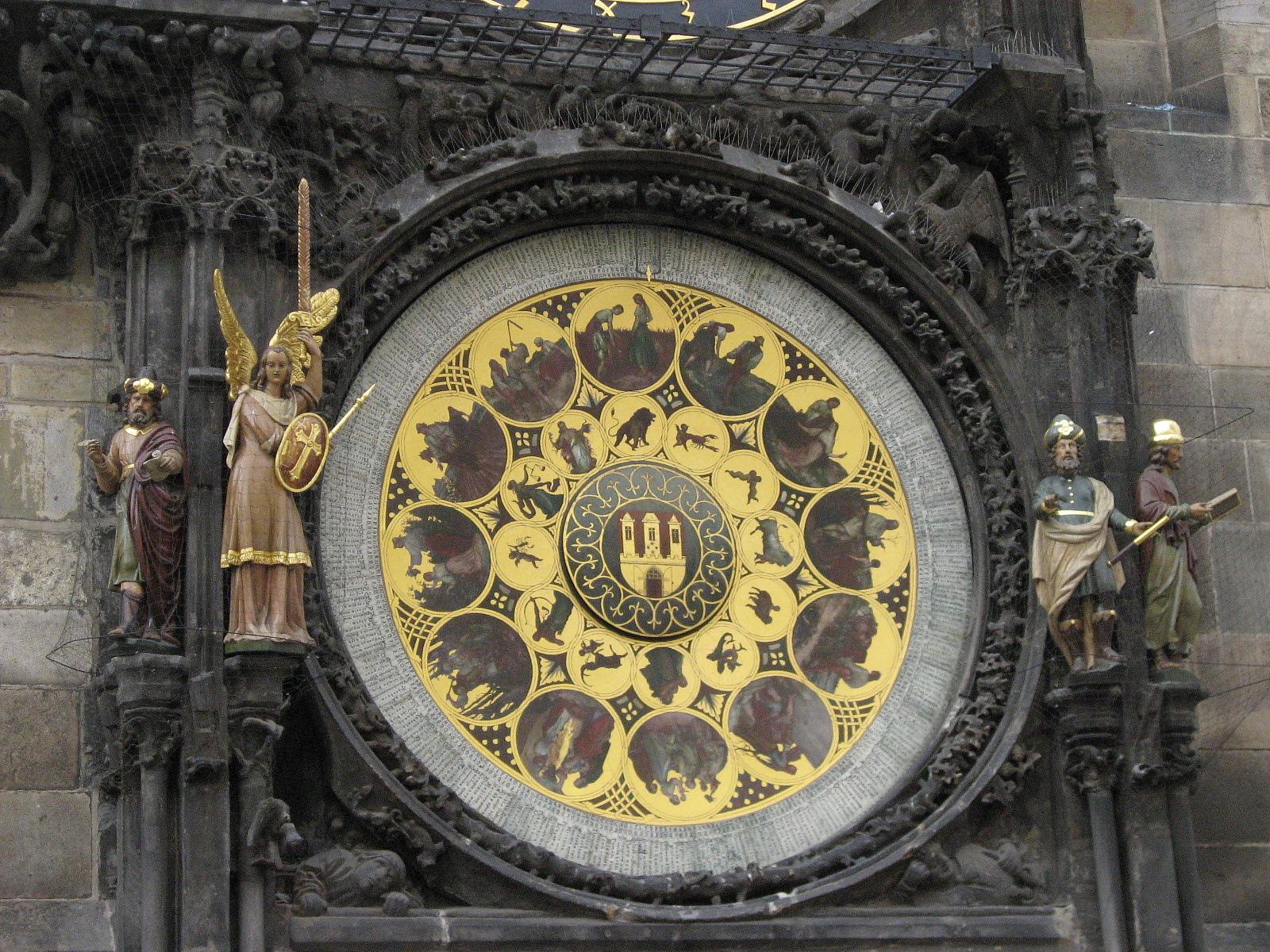 天文鐘--日曆