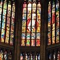 彩繪玻璃窗--聖三位一體