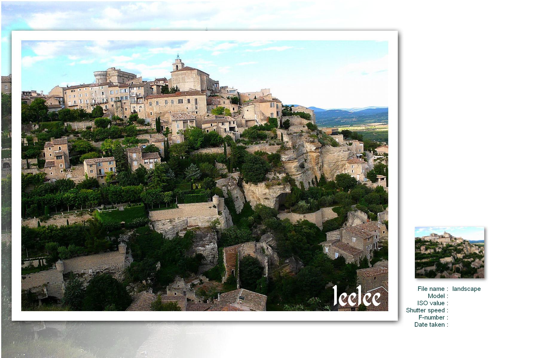 2007 南法小鎮花見行&巴黎略影:在Gordes,驚見天空山城.jpg