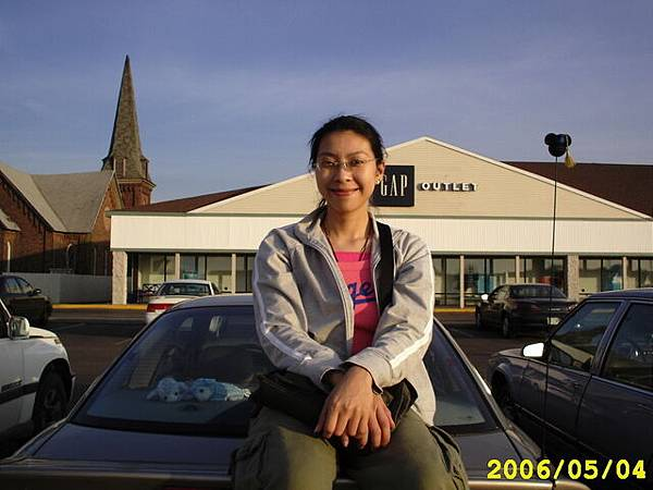 Pei-Ling and her car