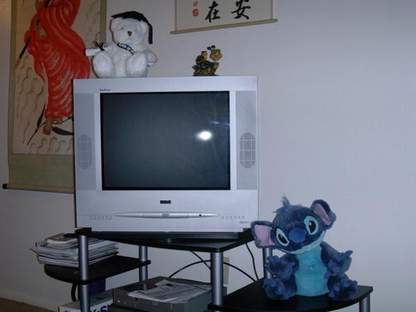My new TV