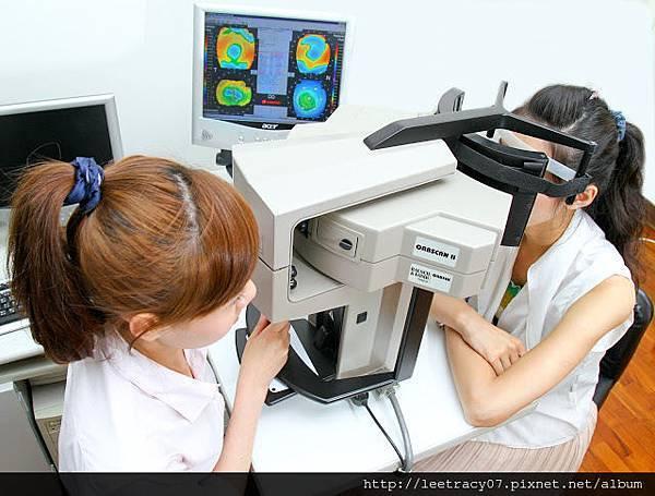眼前部斷層掃瞄分析