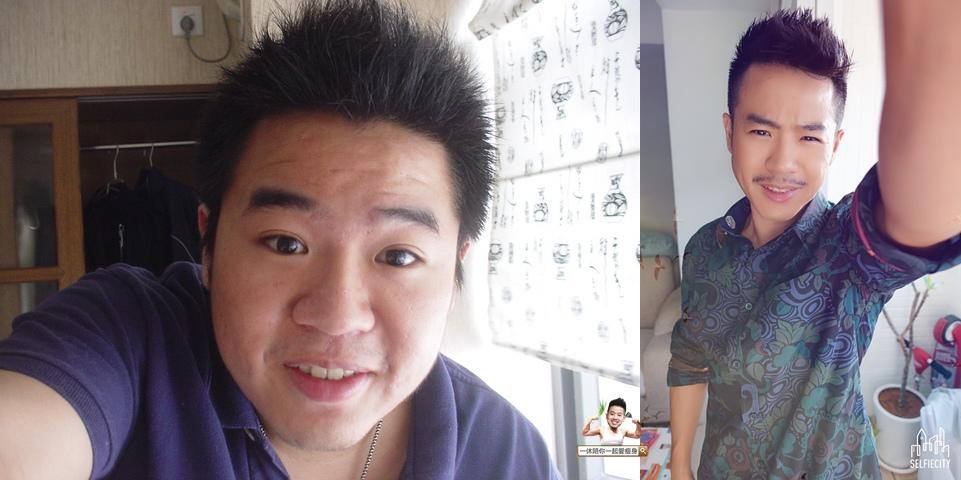 減肥前後70