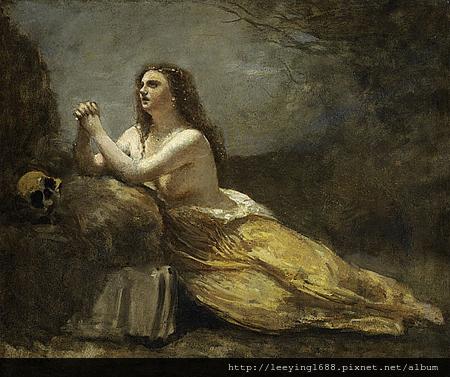20100810-P1870_Madeleine en priere_ Jean Baptiste Camille Corot