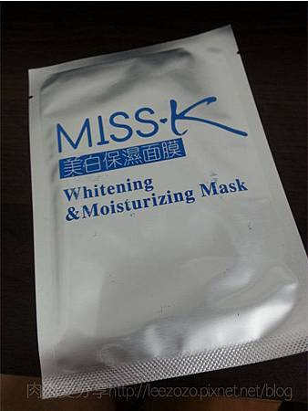 MISS‧K美白保濕面膜