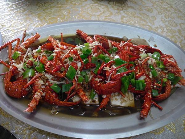 【餃傳食記】海味餐廳之蒜茸蒸龍蝦