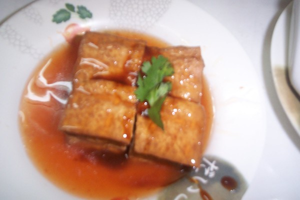 裡頭白白嫩嫩的油豆腐