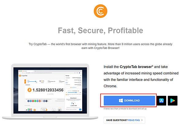 CryptoTab (2021.10更新)CryptoTab Browser 網路賺錢 被動收入教學 出金累積0.02117452 BTC