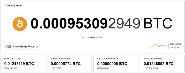 CryptoTab Browser 網路賺錢 被動收入 教學--2021/01/05 BTC出金更新 共0.01994376 BTC