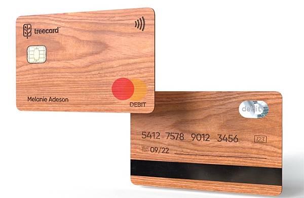 信用卡 世界第一木質信用卡(World's firstwooden debit card.)