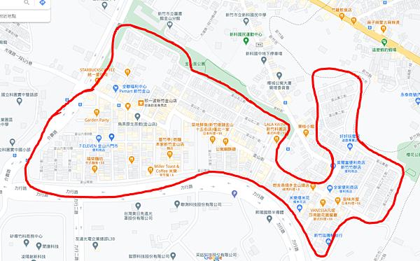 新竹 金山街日常 乾麵地圖懶人包 持續更新中