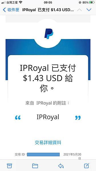 (2021.05更新)IPRoyal PAWNS 2021最新 自動掛機賺錢 可paypal出金 目前累積6.32 USD